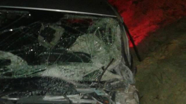 Sudarili su se auto, kamion i traktor, jedan lakše ozlijeđen