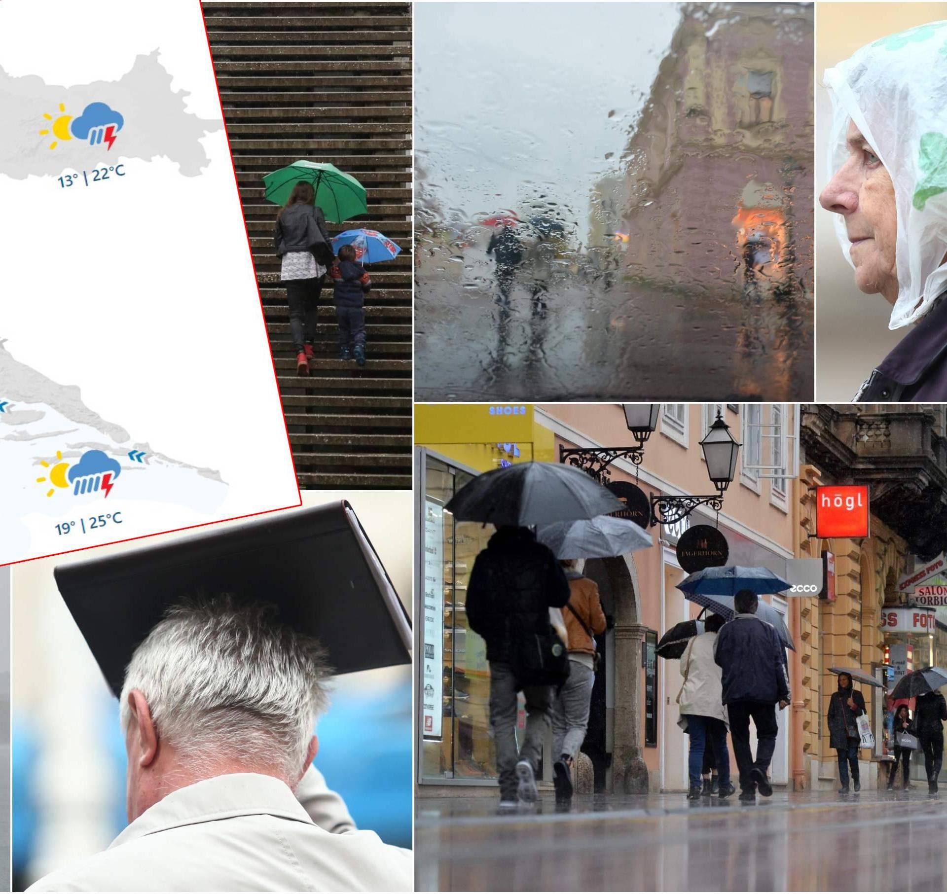 Dolazi ogromna kiša: 'Past će je više nego cijeli prošli mjesec'