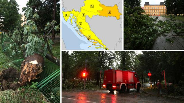 Upalili žuti i narančasti alarm: 'Moglo bi doći do velike štete'