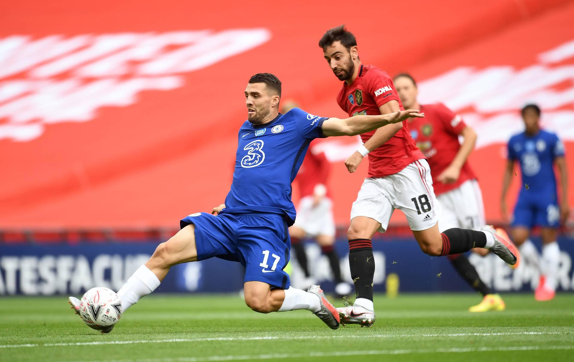 Manchester United v Chelsea - FA Cup - Semi Final - Wembley Stadium
