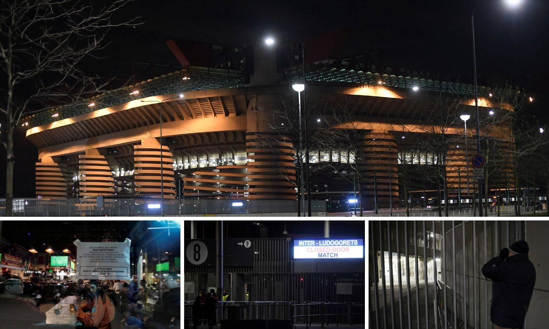 Čuli su se samo glasovi igrača: Tužna noć za Inter i Meazzu...
