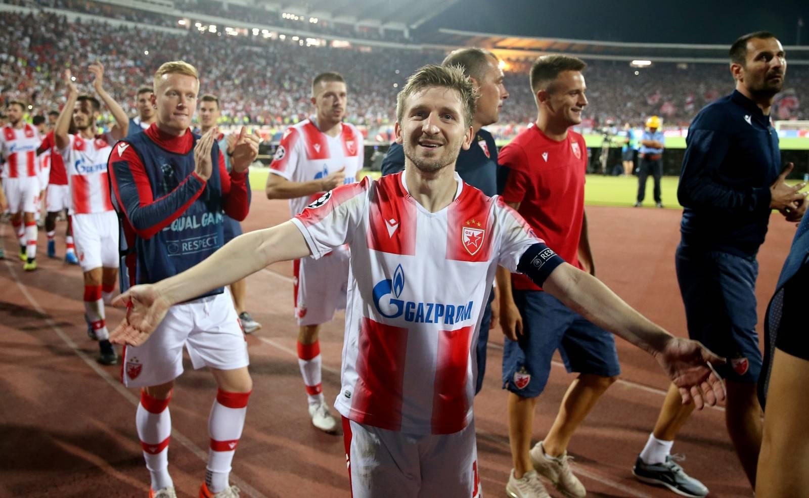 Champions League - Playoffs - Second Leg - Crvena Zvezda v BSC Young Boys