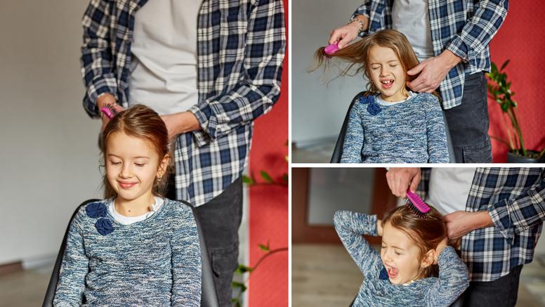 Ovi trikovi će vam pomoći da lako raščešljate kosu djetetu bez drame, vrištanja i otimanja