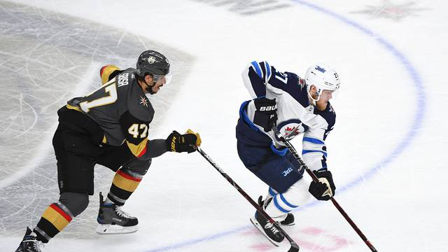 NHL: Stanley Cup Playoffs-Winnipeg Jets at Vegas Golden Knights