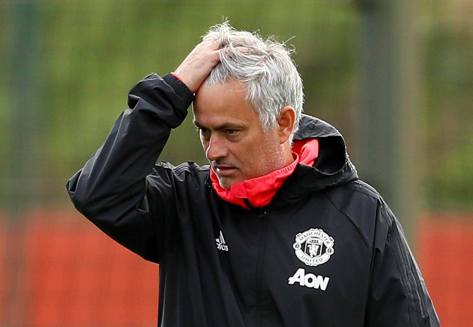 FILE PHOTO: Champions League -Manchester United Training