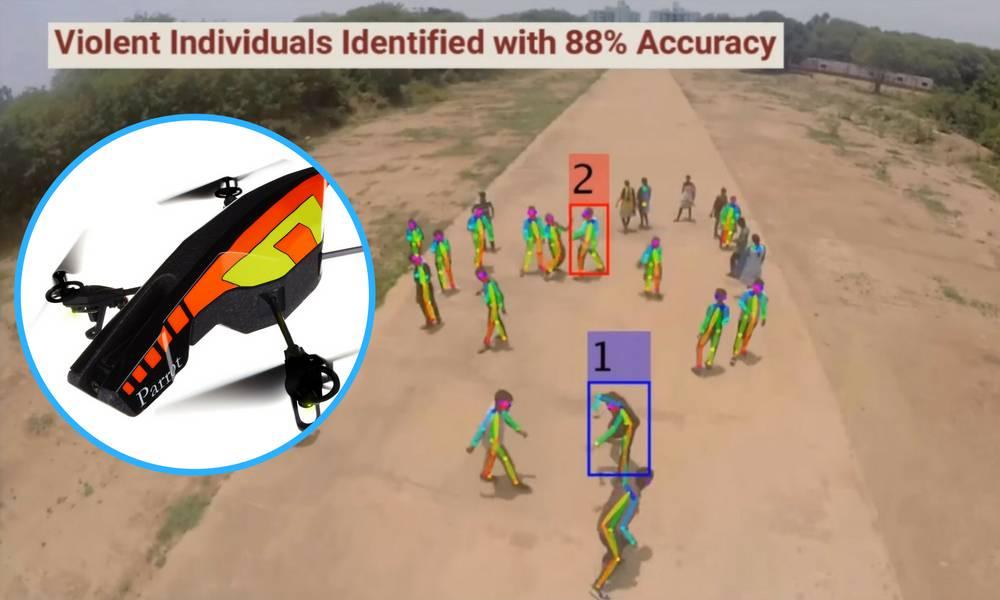 Nebesko oko: Naučili dron da iz zraka otkrije nasilnike u gomili
