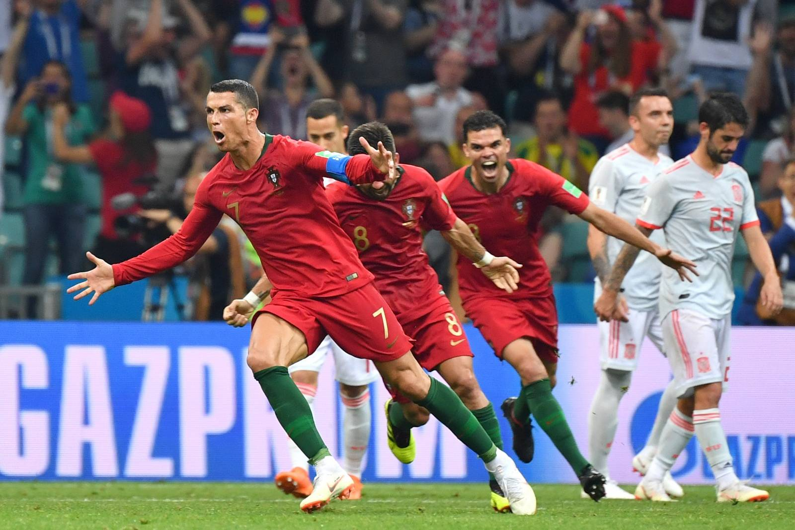 FIFA World Cup 2018 / Preliminary Round / Portugal-Spain 3-3