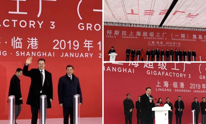 Tesla gradi tvornicu u Šangaju: Prvi Model 3 do kraja godine