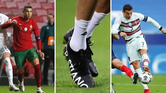 Zašto Ronaldo baš ne voli nositi crne kopačke: Mozak mu govori da je crna prespora, želi biti brz!