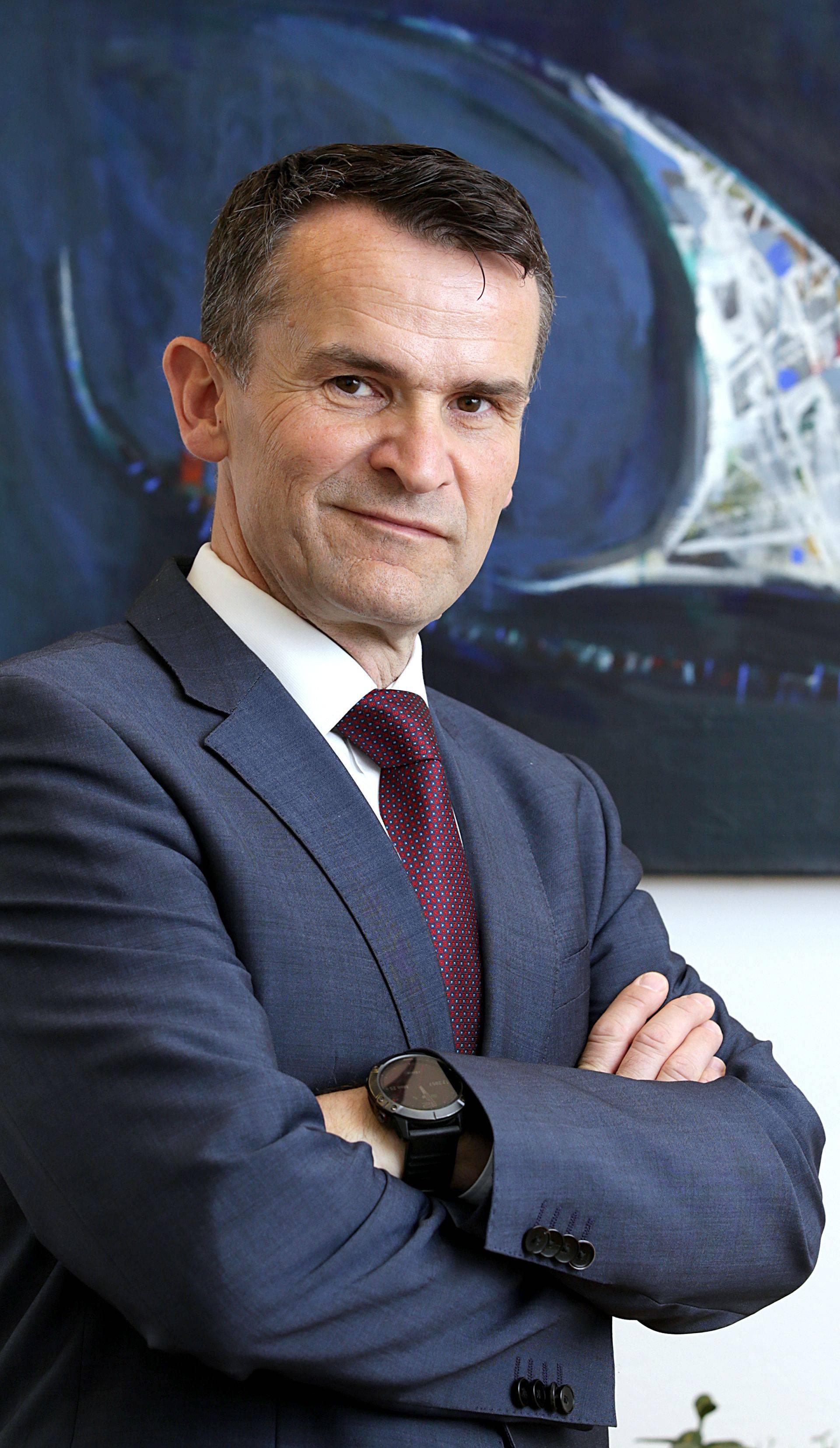 Dr. sc. Ante Žigman, predsjednik Upravnog vijeća Hanfe