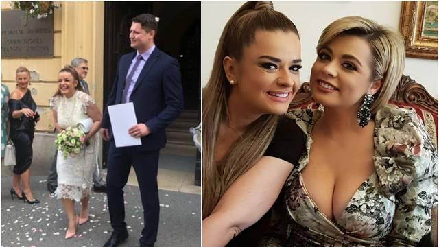 Voditeljica se udala: Na pir joj nije došao brat s Hadžiavdagić