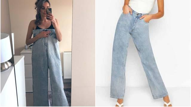 Naručila hlače za visoke: Kada ih je ispružila došle joj do grudi