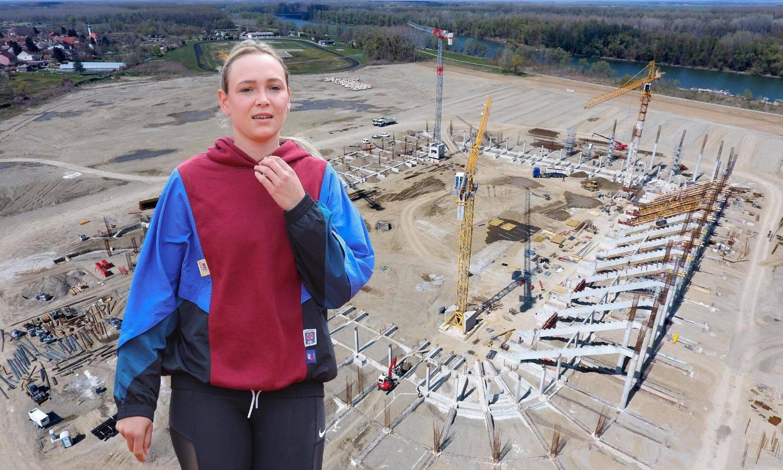 Ekshibicija na gradilištu: Donna i tenisači zaigrat će nogotenis s igračima Osijeka na Pampasu