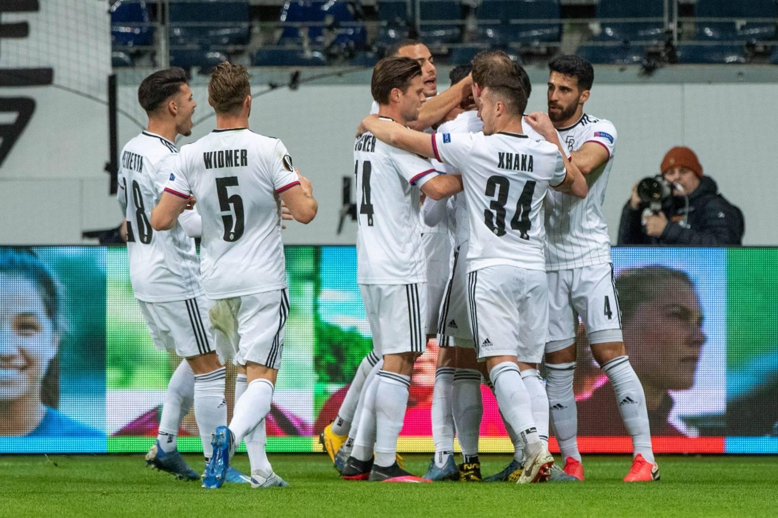 Soccer Europa League / Eintracht Frankfurt - FC Basel 0: 3.