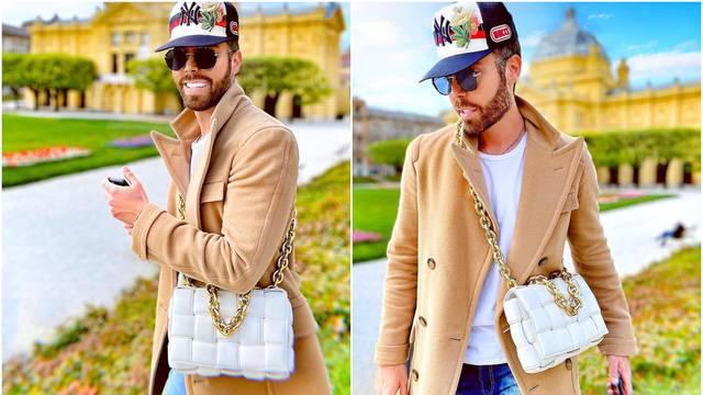 Grubnić 'prošetao' torbicu koja košta više od 24.000 kuna