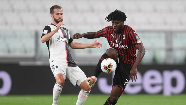 Juventus - Milan Semifinal return of the Italian Cup Tim Cup Juventus Stadium Turin 12.06.2020