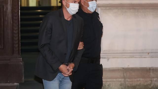 Zagreb: Barišić i Grgić  u pratnji pravosudne policije odlaze u istražni zatvor u Remetincu