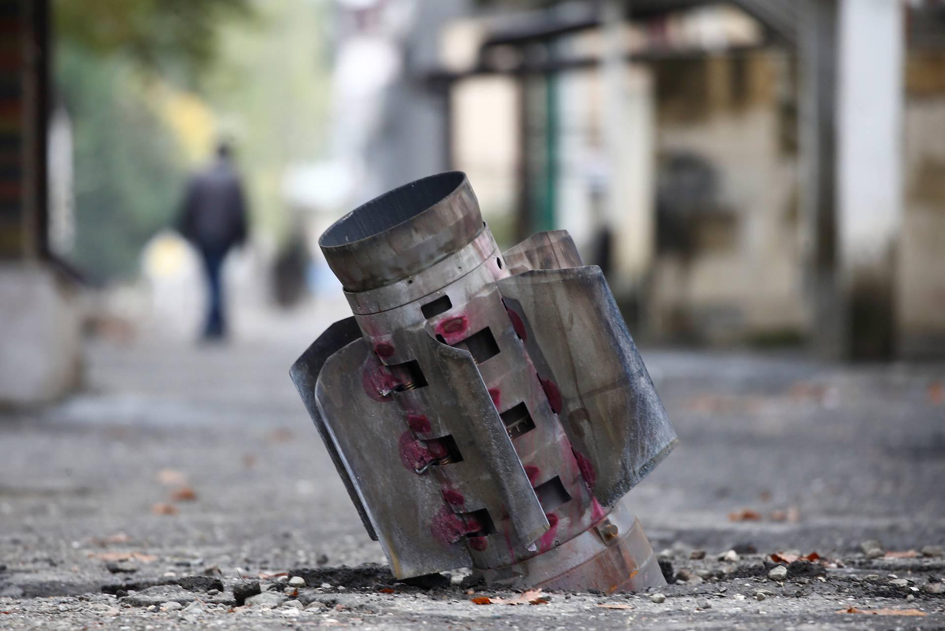 Military conflict over the breakaway region of Nagorno-Karabakh