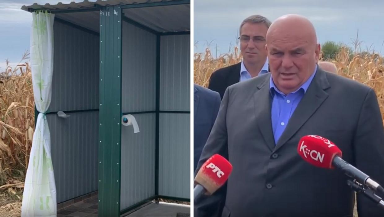 Bandićev kompić Palma otvorio je javni toalet i to - usred polja