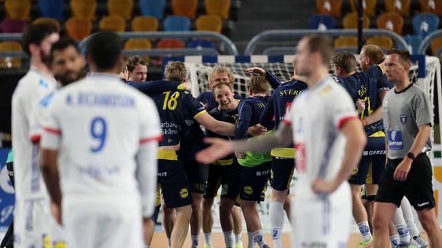 2021 IHF Handball World Championship - Semi Final - France v Sweden