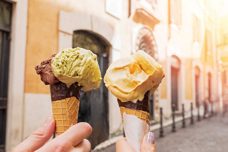 Sladoled i gelato su slični, ali nikako nisu ista ledena slastica