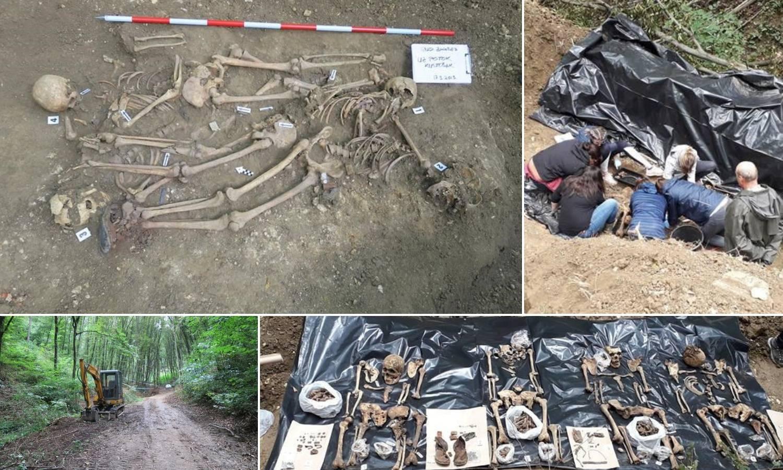 Uz zagrebački potok Kustošak pronašli ostatke četvero ljudi