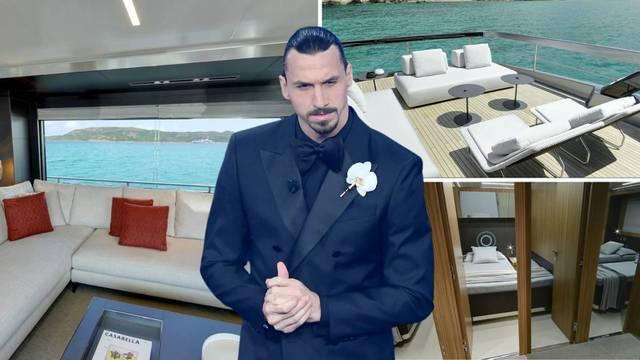 Pogledajte jahtu od 20 milijuna eura u kojoj Ibra sad krati dane: Teretana, garaža, luksuzne sobe