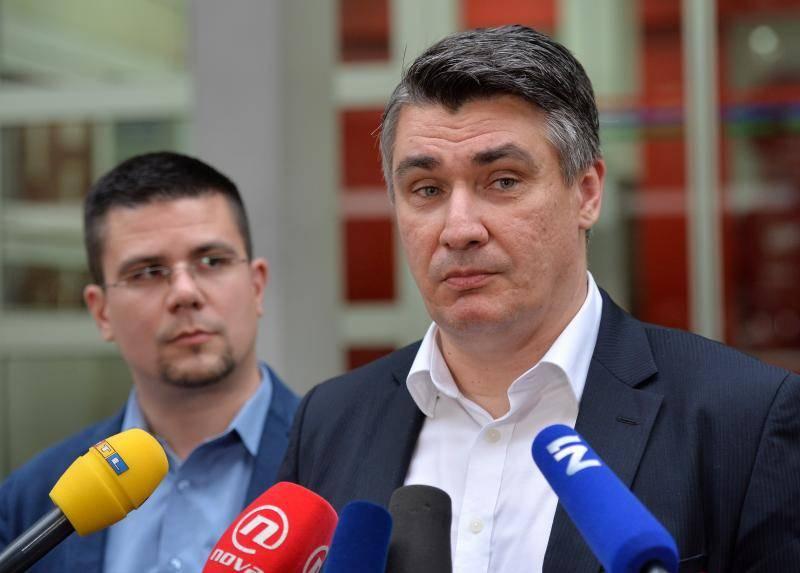 """Milanović: """"Drago mi je da je HDZ izabrao baš Plenkovića"""""""