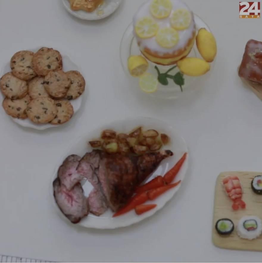 Roz izrađuje sićušna jela po svačijem ukusu
