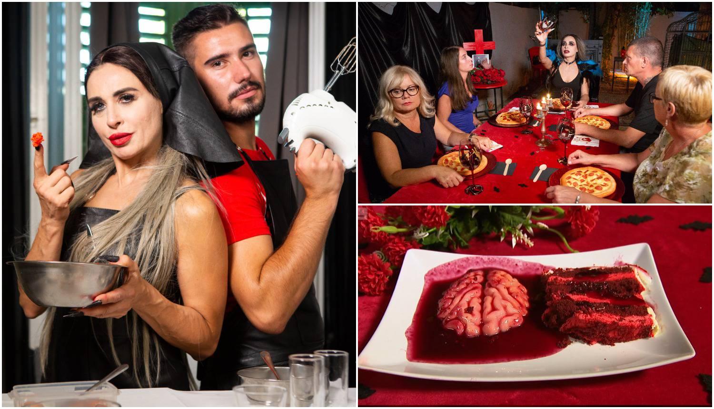 Vampirica za desert poslužila mozak, a u koktelu plivali zubi