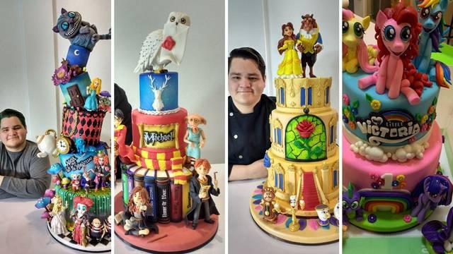 Slastičar pravi genijalne torte sa superherojima od fondanta
