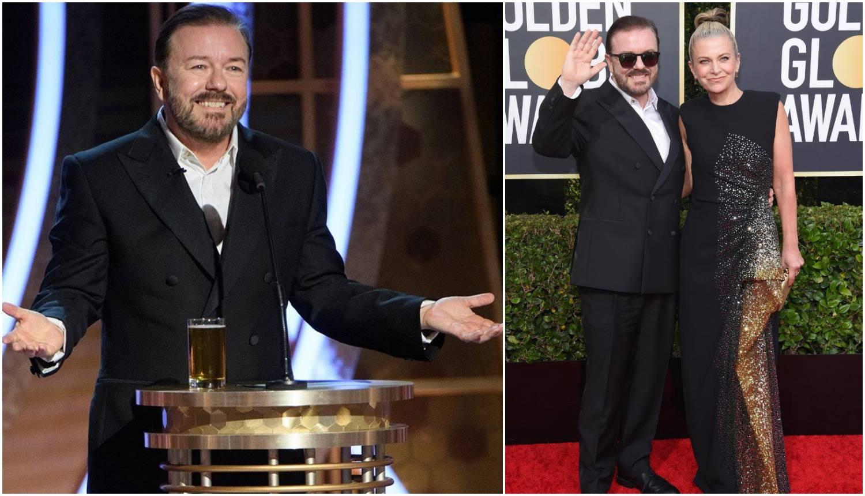 Ricky Gervais vrijeđao slavne: 'Nemate pojma o stvarnosti...'