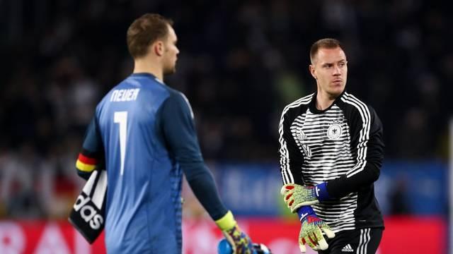 Ter Stegen o 'elfu': Neuer ima prednost, moram se dokazati