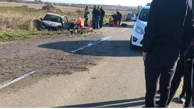 Prometna u Vrsima kraj Zadra: Dvije djevojke su ozlijeđene