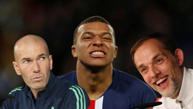 Tuchel odgovorio Zidaneu: Ti voliš Mbappea? On je samo naš