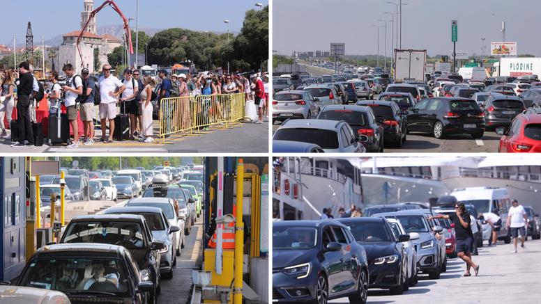 Gužve u prometu: Na Lučkom pala rampa na dva automobila