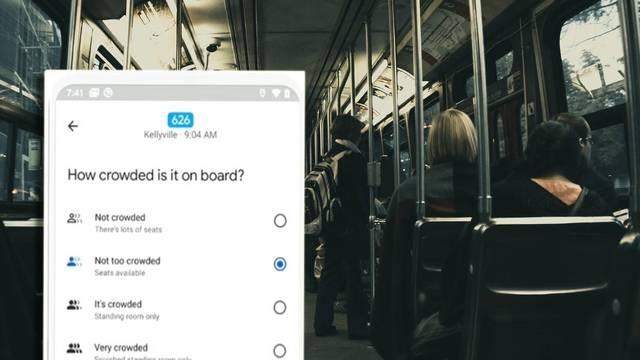 Google Maps uvodi nove alate: Znat ćete koliko ljudi čeka bus na vašoj stanici, gdje su gužve