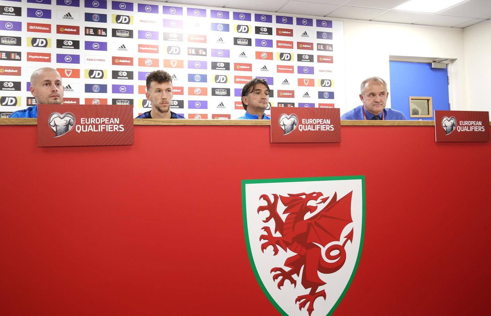 Cardiff: Zlatko Dalić i Ivan Perišić u predstojećoj utakmici protiv Walesa