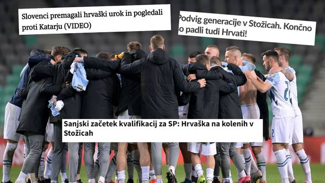 'Hrvati završili na koljenima, srušili smo njihov urok! Ovo je podvig slovenske generacije'