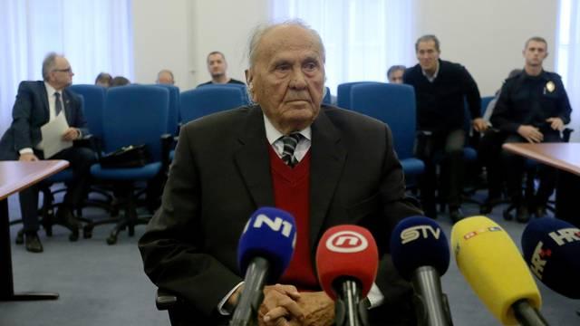 Zagreb: Manolić i Šeks svjedočili na suđenju Branimiru Glavašu