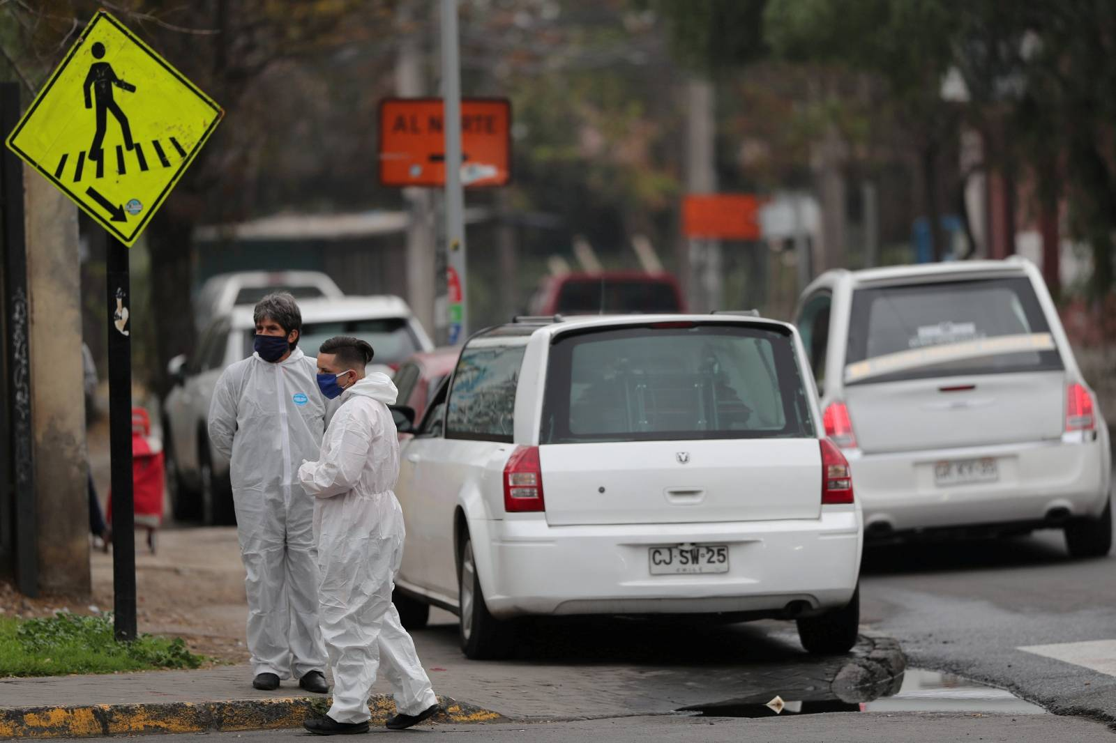 FILE PHOTO: Outbreak of the coronavirus disease (COVID-19) in Santiago