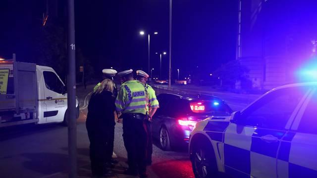 Scene of reported multiple stabbings in Reading
