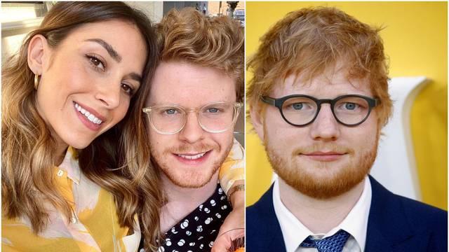 Bivša cura Eda Sheerana udaje se za njegova 'dvojnika'
