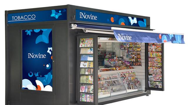 Kiosci iNovina rade svaki dan, nude i dezinfekcijska sredstva