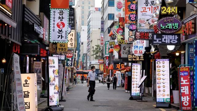 FILE PHOTO: Coronavirus disease (COVID-19) pandemic in Seoul