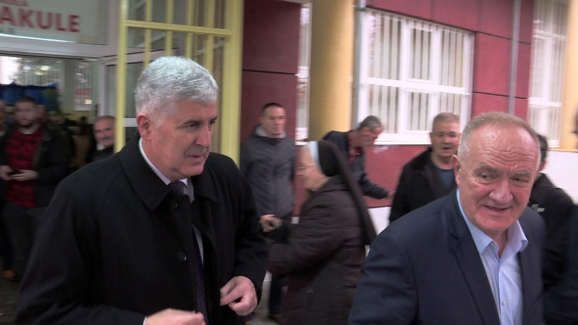 Mate Bulić na izbore u Mostar stigao s Draganom Čovićem
