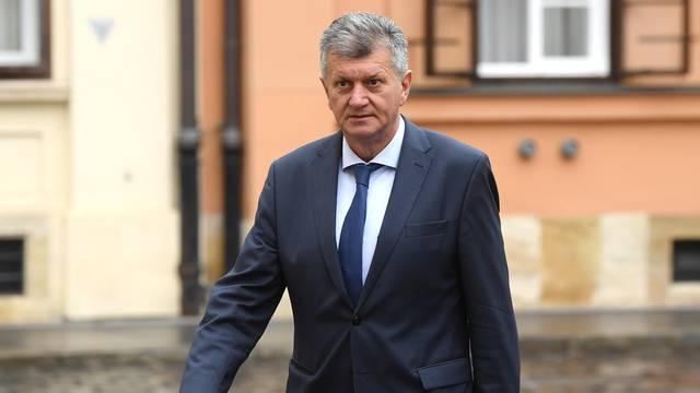 Zagreb: Dolazak ministara u Banske dvore na sjednicu Vlade