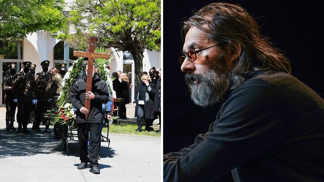 Od Saše Anočića s tugom su se na osječkom groblju oprostili obitelj, prijatelji i brojni kolege