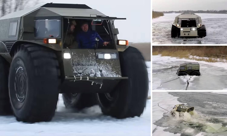 Upoznajte Sherpa: Ovaj Rus bi mogao lako krenuti i na Mars