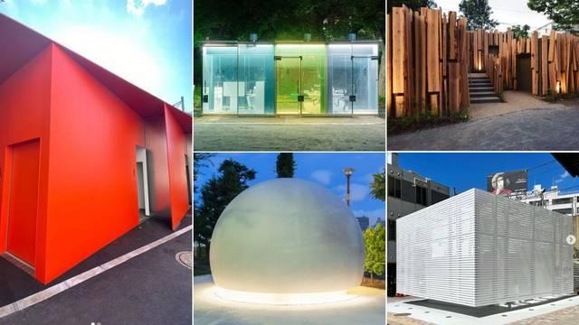 Dizajnerskim javnim toaletima u Japanu žele promijeniti sliku javnih WC-a kao prljavih mjesta